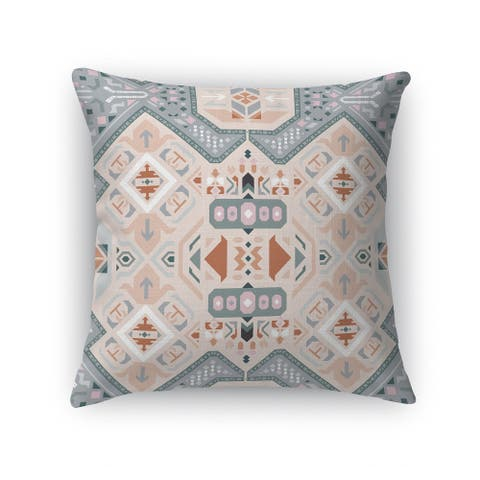 ABADEH SLATE Accent Pillow By Kavka Designs