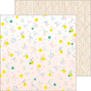 """Dream On Double-Sided Cardstock 12""""X12""""-Delight"""