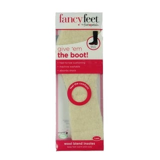 Foot Petals Womens Insoles Wool Blend Trim To Fit - O/S
