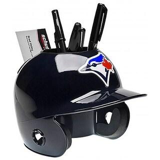 Toronto Blue Jays MLB Baseball Schutt Mini Batting Helmet Desk Caddy