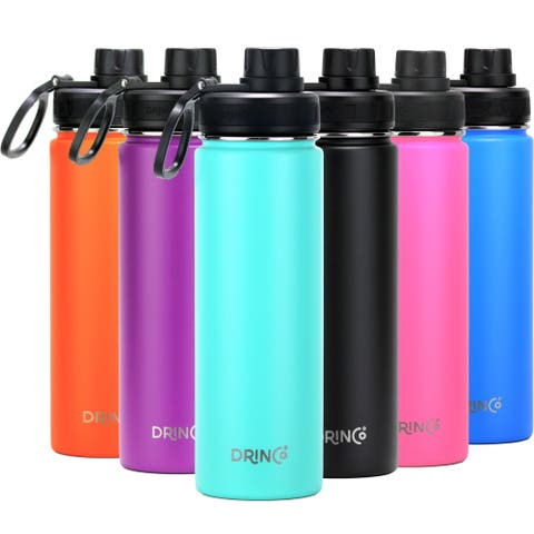 Daily Boutik 22oz Stainless Steel Sport Water Bottle - Teal