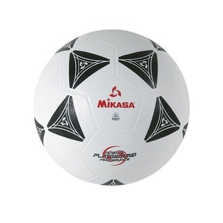 Mikasa 3000 Series Size 4 Soccer Ball, Black/White