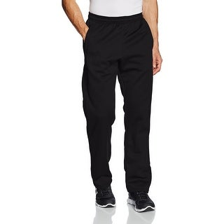 Under Armour NEW Black Mens Size Small S Athletic Pull-On Straight Pants