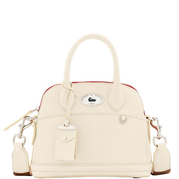 Dooney & Bourke Florentine Toscana Small Domed Satchel (Introduced by Dooney & Bourke at $368 in Jan 2017) - Bone