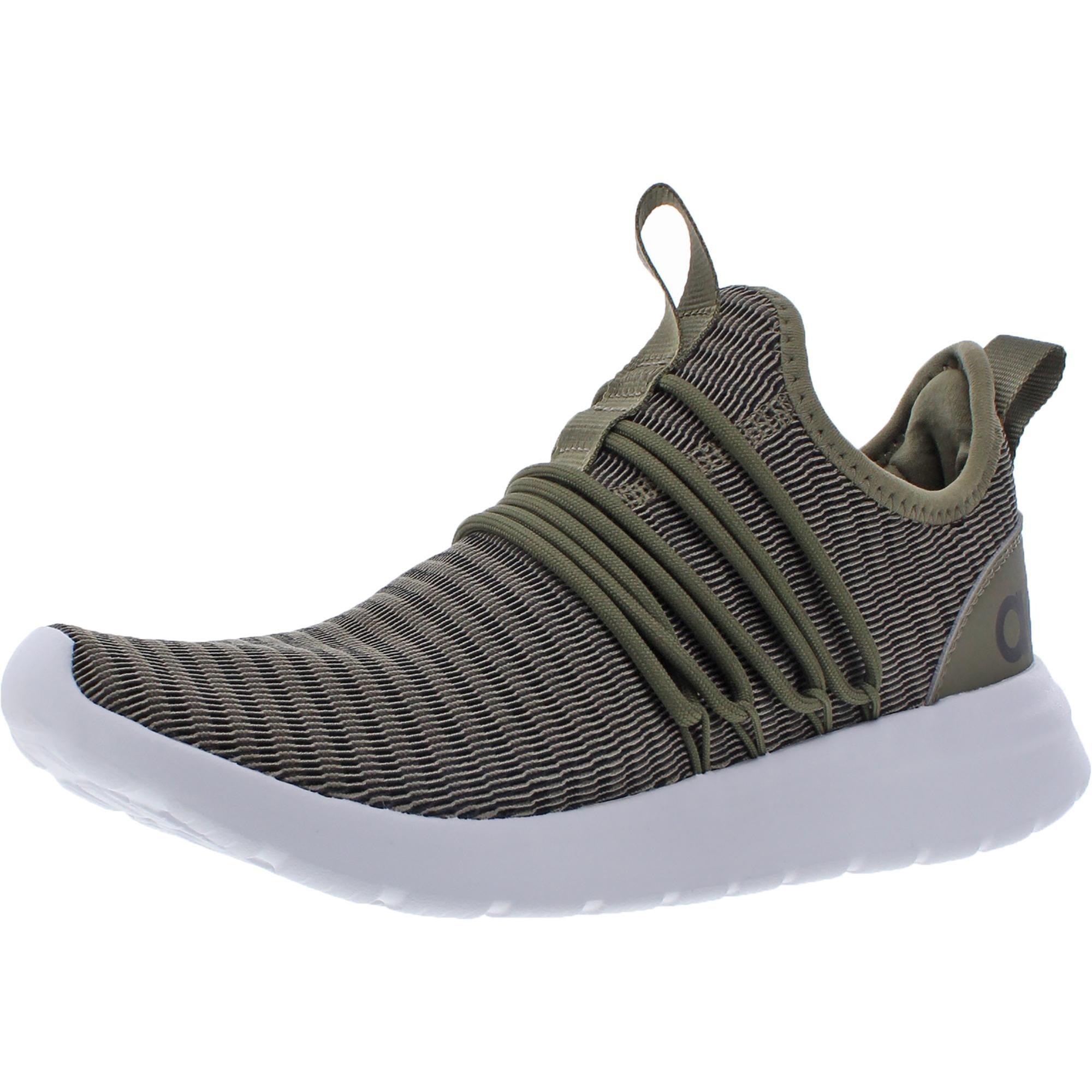 Especificado Vaca kiwi  Shop Adidas Mens Lite Racer Adapt Running Shoes Mesh Stretch - Raw  Khaki/Raw Khaki/Core Black - Overstock - 32299450