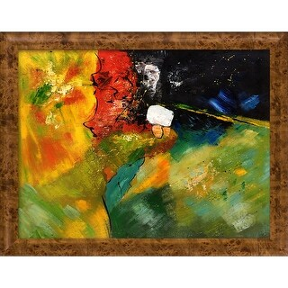 Pol Ledent 'Abstract 1811804' Hand Painted Oil Reproduction
