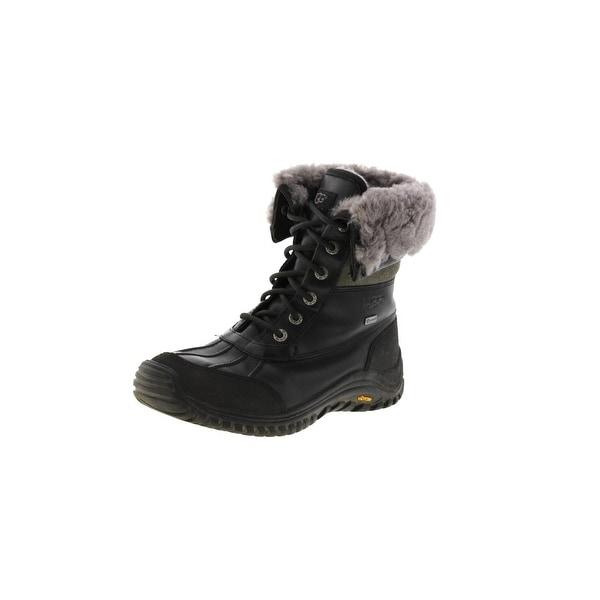 5fb1959836d Shop Ugg Australia Womens Adirondack II Lace-Up Boot Leather Fold ...