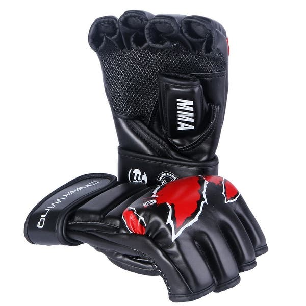 MMA Boxing Gloves Grappling Training Punching Sparring Glove Mitten For UFC