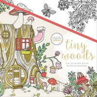 """KaiserColour Perfect Bound Coloring Book 9.75""""X9.75""""-Tiny Woods"""