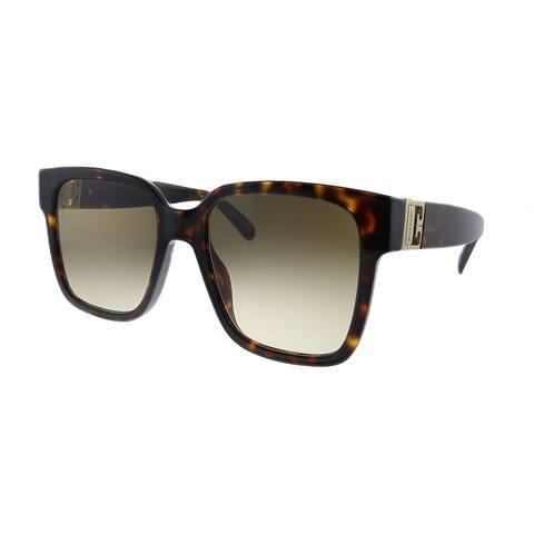 Givenchy GV 7141/G/S 086 HA Womens Dark Havana Frame Brown Gradient Lens Sunglasses