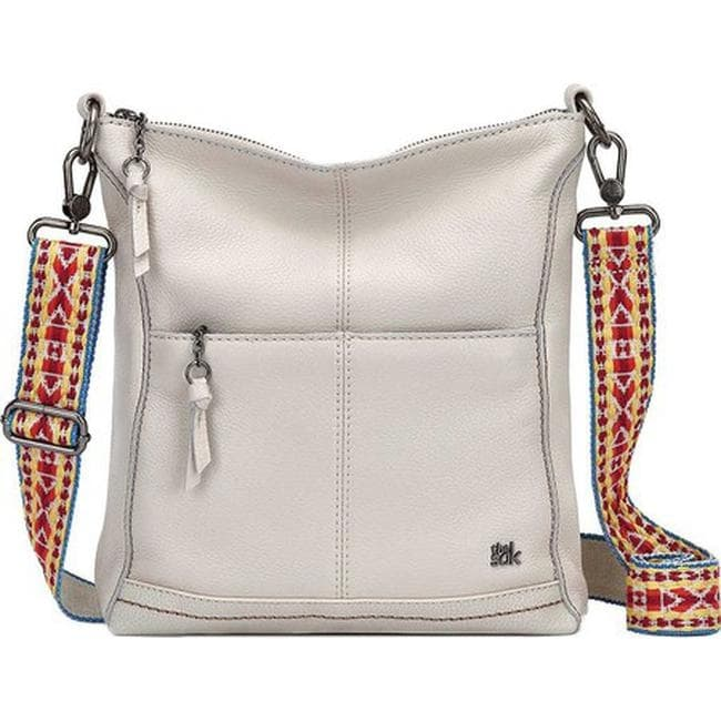 Lucia Crossbody Bag Stone Leather