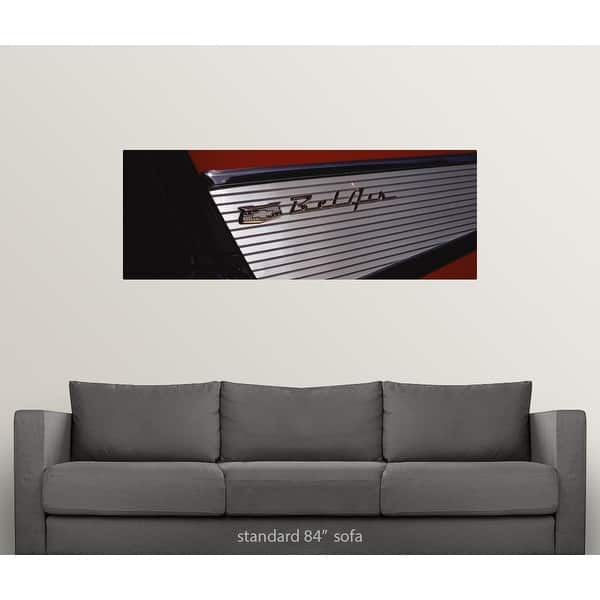 Shop Close-up of a 57 Chevy Bel Air Tail Fin car - Multi ...