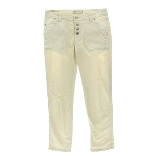 Free People Womens Jeans Denim Distressed