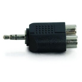 C2g - 3.5Mm Stereo Male To Dual Rca Female Audio Adapter