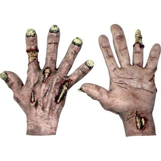 Zombie Flesh Hands Horror Costume Accessory