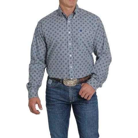Cinch Western Shirt Mens L/S Fancy Print Button Front