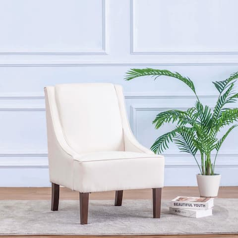 Kotter Home Upholstered Swoop Chair