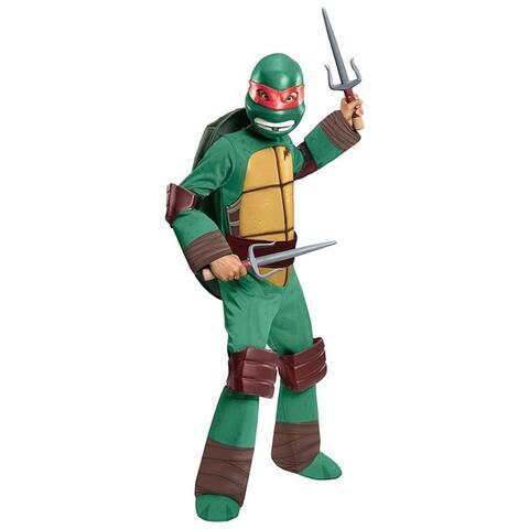 Teenage Mutant Ninja Turtles Raphael Toddler size 2-4 TMNT Costume Outfit Rubie's