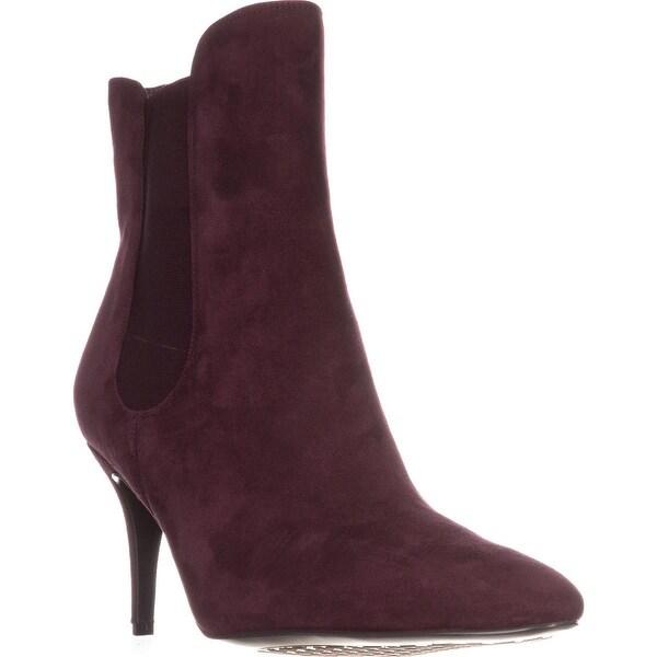 Lauren by Ralph Lauren Pashia Ankle Boots, Claret Suede