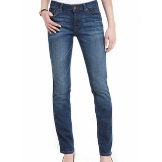 Tommy Hilfiger NEW Blue Women's Size 2X31 Straight Leg Seamed Jeans