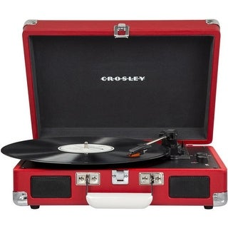 Crosley Cruiser Turntable with Bluetooth & Pitch Control - Red