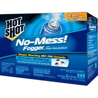 Hot Shot HG-20177 No-Mess Insect Fogger, 3.5 Oz
