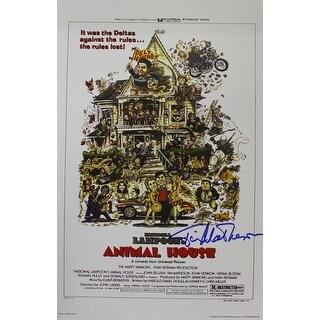 Tim Matheson Autographed Animal House 11x17 Poster Print Otter