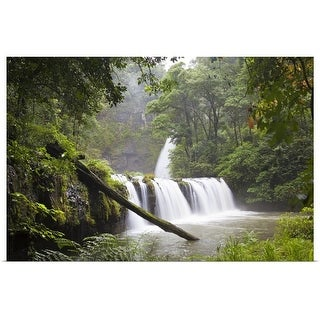"""Nandroya Falls in Wooroonoonan National Park"" Poster Print"