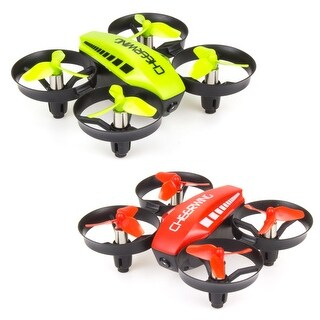 Cheerwing CW10 Mini RC Drone Wifi FPV Drone with Camera Altitude Hold Quadcopter (Option: Green)