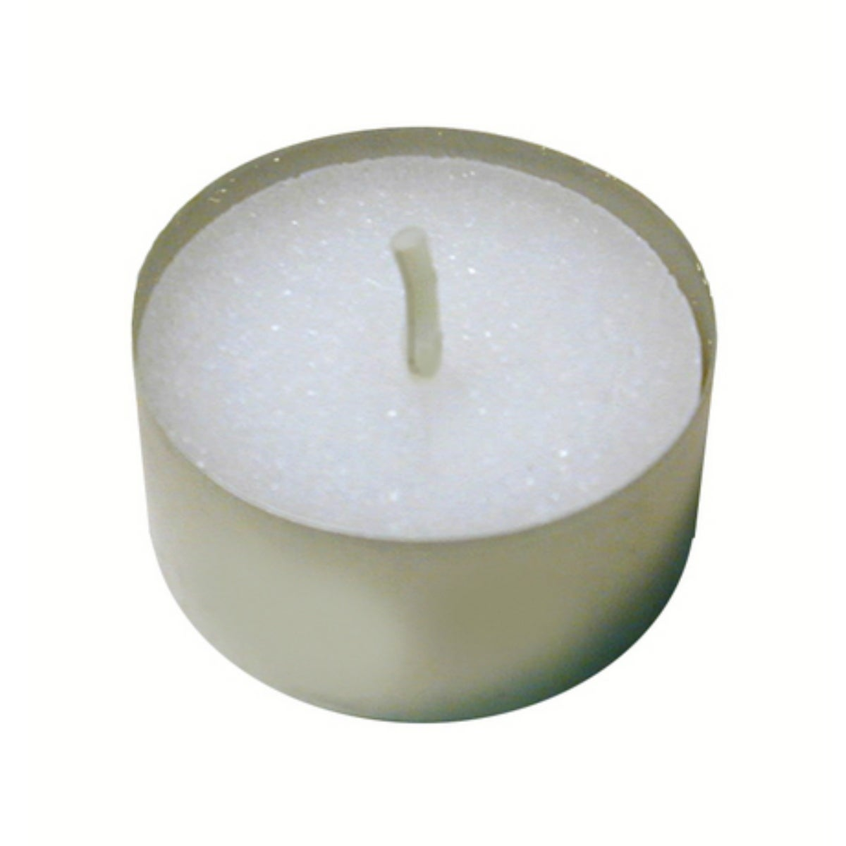 Candle-Lite 1261595 Unscented Tea Light, White, Bag of 50 - White - Thumbnail 0