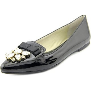 Michael Michael Kors Felicity Flat Women Pointed Toe Synthetic Black Flats