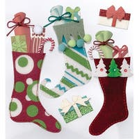Stuffed Stockings - Jolee's Christmas Stickers