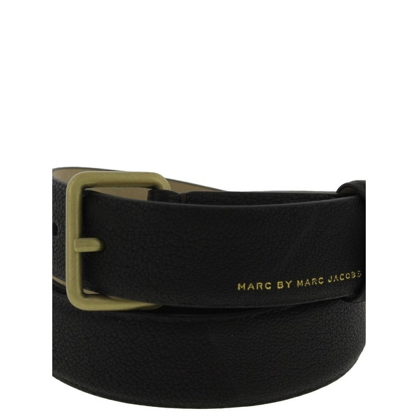 Marc by Marc Jacobs Mens Casual Belt Pebbled Leather - M/L