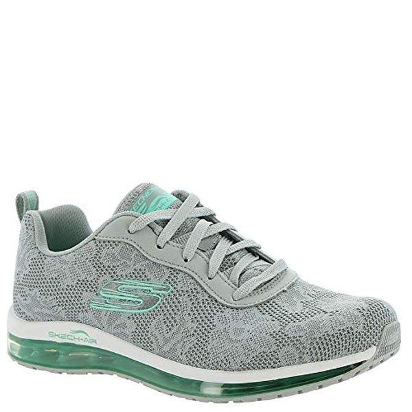 29d385a5fb Shop Skechers Women's Skech Air Element Gray/Mint - Free Shipping Today -  Overstock - 27122536