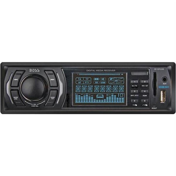 Mp3 Compatible Digital Media Am-Fm Receiver With Usb And Sd Memory