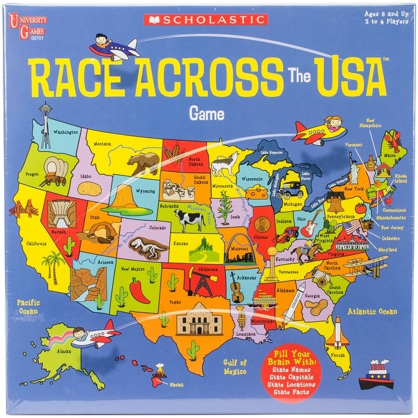 Shop scholastic race across the usa game free shipping on orders scholastic race across the usa game gumiabroncs Images