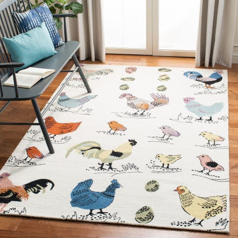 Safavieh Handmade Novelty Oili Novelty Wool Rug