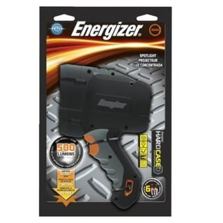 Energizer HCSP61E Hard Case Professional LED Spotlight, 150/500-Lumen