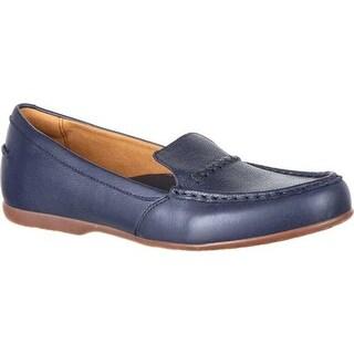 4EurSole Women's Alto Loafer Navy Leather