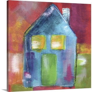 """Bluehouse"" Canvas Wall Art"
