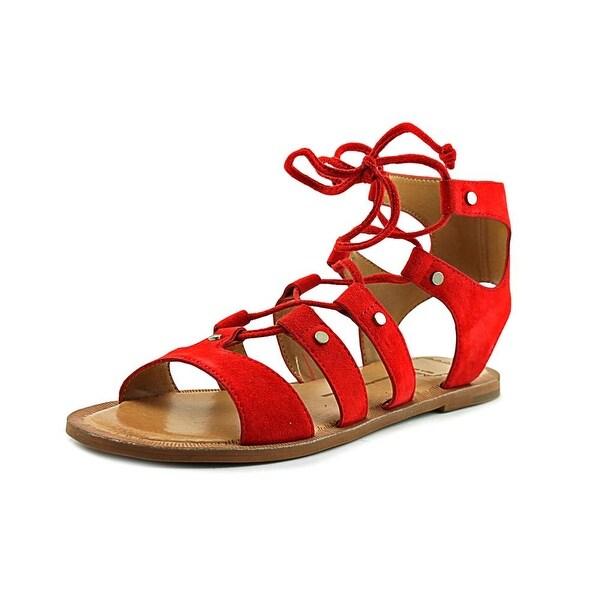 Dolce Vita Jasmyn Women Open Toe Suede Gladiator Sandal