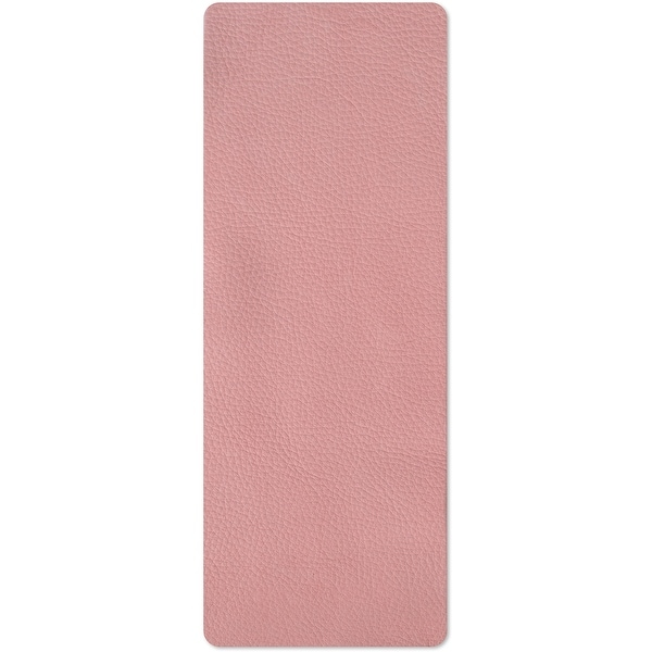 """Sizzix Cowhide Leather 3""""X9""""-Pink"""
