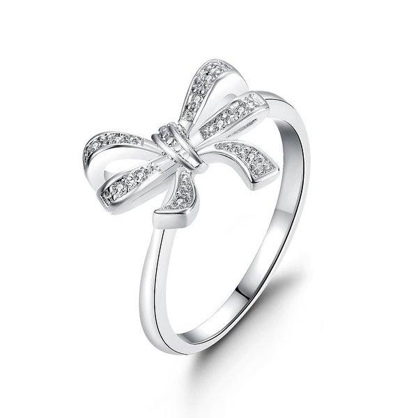 Love Knot White Gold Ring