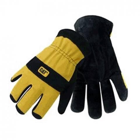 Cat CAT012222X-2 Lined Split Leather Palm Glove, X-Large