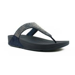 FitFlop Womens Slinky Rokkit Blue Flip Flops Size 7