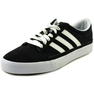 Adidas Rayado Men Round Toe Suede Black Sneakers