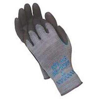 Atlas 330M-08.RT Gloves Gray with Black Coating, Medium