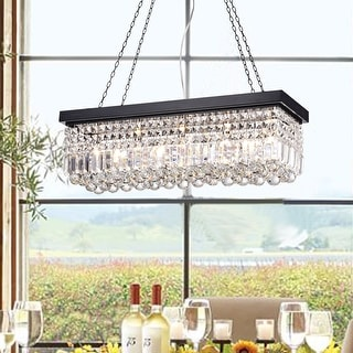 Link to Carina 5-Light Crystal Chandelier Similar Items in Chandeliers