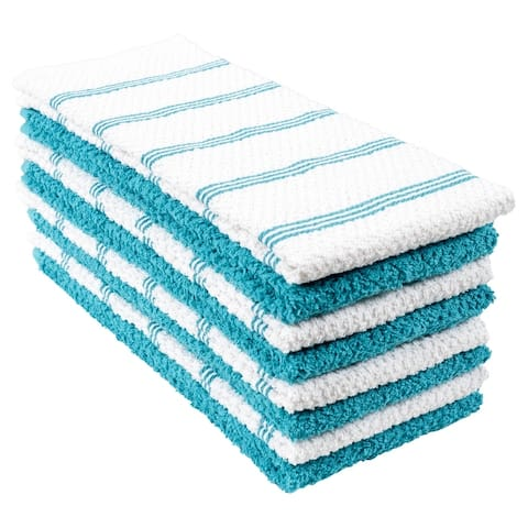 Piedmont Cotton Kitchen Towels, Set of 8