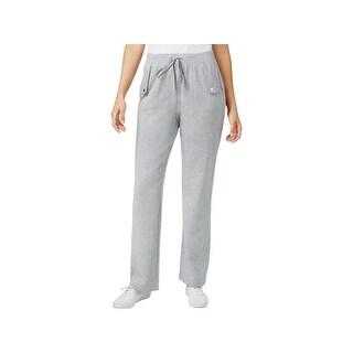 Karen Scott Womens Petites Lounge Pants French Terry Pull On